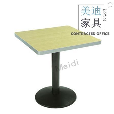 美迪2214钢制方形食堂餐桌快餐桌