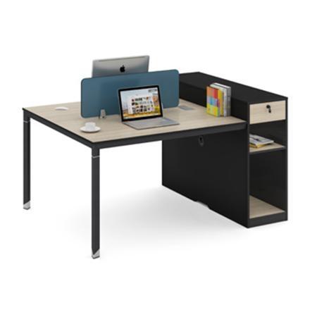bgzJP688-1412屏风办公桌两人位1.4米